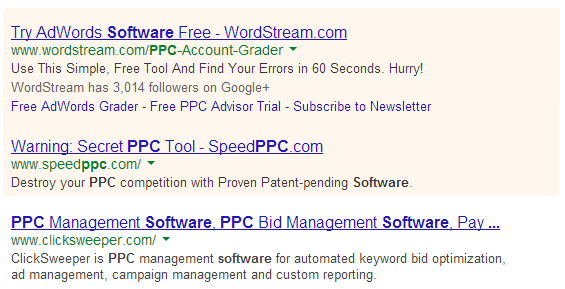 Pay Per Click ads on Google Search Engine_bonet enterpises